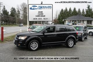 Used 2015 Dodge Journey SXT, 3rd Row, Backup Cam, Rear DVD, Alloys, Keyless-Go ++ for sale in Surrey, BC