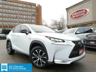 Used 2017 Lexus NX 200t F SPORTS PKG |RED INT | NAVI | CAM | HUD | 4 NEW SNOW TIRES* for sale in Scarborough, ON