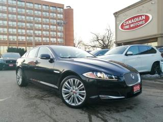 Used 2015 Jaguar XF LUXURY PKG | NAVI | CAM | MERIDIAN AUDIO | 4 NEW SNOW TIRES* for sale in Scarborough, ON