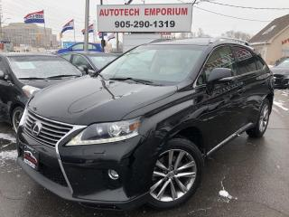 Used 2015 Lexus RX 350 AWD Leather/Sunroof/Camera/Htd Seats&GPS* for sale in Mississauga, ON