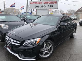 Used 2017 Mercedes-Benz C-Class AMG 4MATIC AWD Navi/Camera/Sunroof/Leather for sale in Mississauga, ON