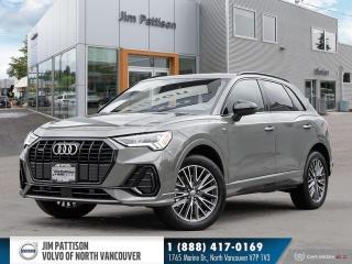 Used 2021 Audi Q3 45 Progressiv - SLINE - NO ACCIDENTS for sale in North Vancouver, BC