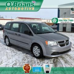 Used 2014 Dodge Grand Caravan SE - Accident Free! w/Cruise Control, Air Conditioning for sale in Saskatoon, SK