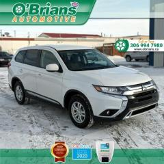 Used 2020 Mitsubishi Outlander ES w/Mfg Warranty, AWD, Heated Seats, Cruise for sale in Saskatoon, SK