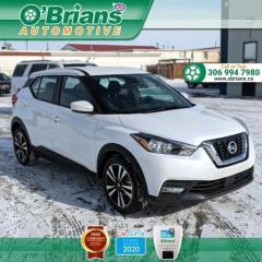 Used 2020 Nissan Kicks SV w/Mfg Warranty, AWD, Heated Seats, Cruise, Air Conditioning for sale in Saskatoon, SK