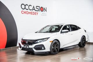 Used 2018 Honda Civic SPORT+TOIT+CAMERA DE RECUL+SIEGES CHAUFFANTS for sale in Laval, QC