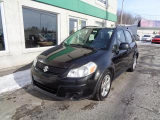Used 2012 Suzuki SX4 Hayon 5 portes CVT JX traction intégrale for sale in St-Jérôme, QC