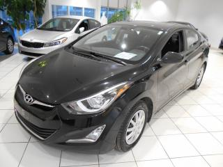 Used 2016 Hyundai Elantra SPORT ** CAMERA,TOIT,GPS,UN PROPRIETAI for sale in Montréal, QC