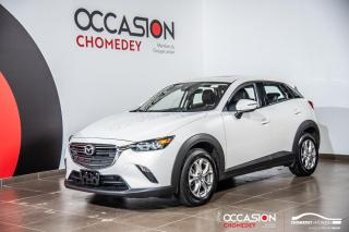 Used 2019 Mazda CX-3 GS AWD+CAM/RECUL+CUIR +SIEG/CHAUFF + SIEG/ELECT for sale in Laval, QC