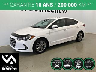 Used 2017 Hyundai Elantra GL ** GARANTIE 10 ANS ** Berline fiable et économique! for sale in Shawinigan, QC