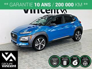 Used 2018 Hyundai KONA TREND AWD ** GARANTIE 10 ANS ** Un véhicule amusant à conduire! for sale in Shawinigan, QC
