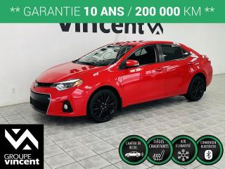 Used 2015 Toyota Corolla S ** GARANTIE 10 ANS ** Look sportif! for sale in Shawinigan, QC