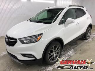 Used 2017 Buick Encore Sport Touring MAGS CUIR/TISSUS CAMÉRA for sale in Shawinigan, QC
