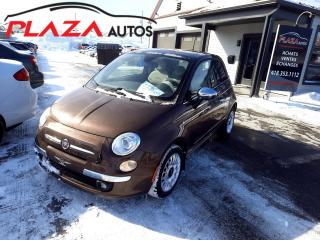 Used 2012 Fiat 500 2dr HB Lounge for sale in Beauport, QC