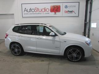 Used 2016 BMW X3 XDRIVE**CUIR**TOIT PANORAMIQUE for sale in Mirabel, QC