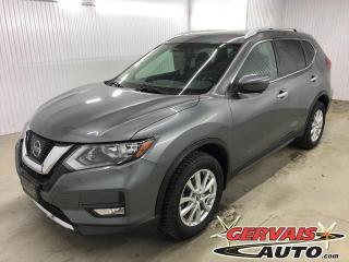 Used 2017 Nissan Rogue SV TECH AWD GPS MAGS TOIT PANORAMIQUE *Traction intégrale* for sale in Shawinigan, QC