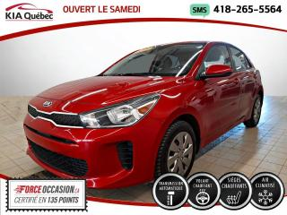Used 2020 Kia Rio LX+* 5 PORTES* AUTOMATIQUE* A/C* for sale in Québec, QC