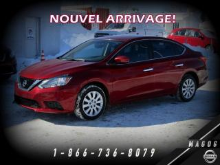 Used 2018 Nissan Sentra SV + GARANTIE + CAMÉRA + A/C! for sale in Magog, QC