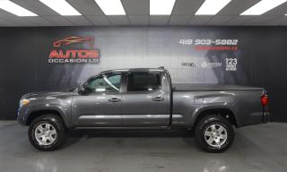 Used 2020 Toyota Tacoma SR V6 4X4 DOUBLE CAB MAGS CAMERA SIÈGES 7101 KM !! for sale in Lévis, QC