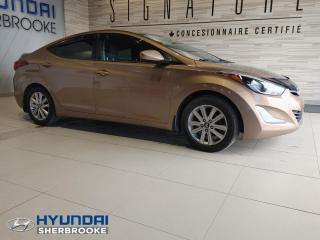 Used 2016 Hyundai Elantra SE TOIT CAMERA BANCS CHAUFF BLUETOOTH for sale in Sherbrooke, QC