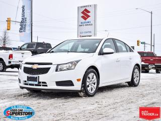 Used 2014 Chevrolet Cruze LT ~Bluetooth ~Power Windows + Locks ~A/C ~Keyless for sale in Barrie, ON