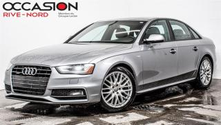 Used 2015 Audi A4 Komfort Plus Quattro CUIR+TOIT.OUVRANT for sale in Boisbriand, QC