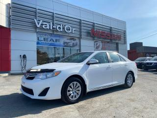 Used 2013 Toyota Camry LE *** CAMERA RECUL + PNEUS HIVER *** for sale in Val-d'Or, QC