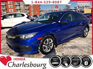 Used 2018 Honda Civic LX **UN PROPRIÉTAIRE**0 ACCIDENT** for sale in Charlesbourg, QC