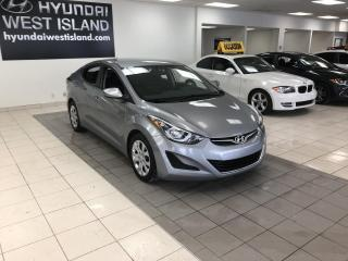 Used 2016 Hyundai Elantra GL AUTO A/C  CRUISE BT SIÈGES CHAUFFANTS for sale in Dorval, QC