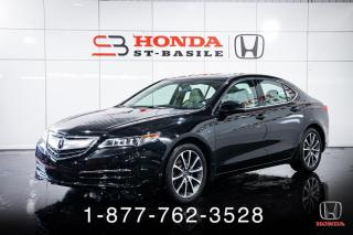Used 2017 Acura TLX SH-AWD + CUIR + TOIT + WOW ! for sale in St-Basile-le-Grand, QC