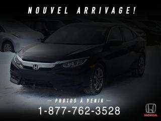 Used 2018 Honda Civic LX + AUTO + A/C + CRUISE + WOW ! for sale in St-Basile-le-Grand, QC