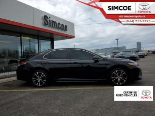 Used 2019 Toyota Camry SE Upgrade Package  - Certified for sale in Simcoe, ON