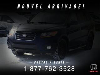 Used 2010 Hyundai Santa Fe GL + V6 + SPORT + AWD+ WOW ! for sale in St-Basile-le-Grand, QC