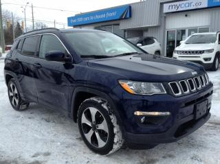 Used 2018 Jeep Compass North LEATHER, HEATED SEATS, AUTO START, BACKUP CAM!! for sale in Kingston, ON