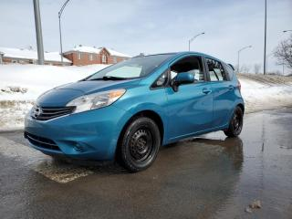 Used 2014 Nissan Versa Note SV *DÉMARREUR*CAMERA*BT 37$/SEM for sale in St-Jérôme, QC