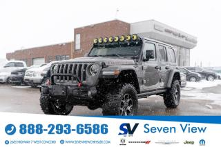 Used 2019 Jeep Wrangler Unlimited Rubicon 4x4 NAVI/3 INCH LIFT/BUSH GUARD/ for sale in Concord, ON