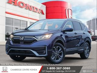 New 2021 Honda CR-V EX-L REMOTE STARTER | APPLE CARPLAY™ & ANDROID AUTO™ | LANEWATCH™ CAMERA for sale in Cambridge, ON