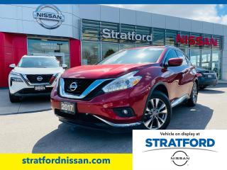 Used 2017 Nissan Murano SV AWD for sale in Stratford, ON