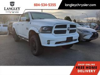 Used 2014 RAM 1500 Sport  6'' Lift/ Tonneau/ Locally Driven/ Tire & Wheel PKG for sale in Surrey, BC