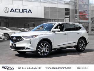 New 2022 Acura MDX Tech for sale in Burlington, ON