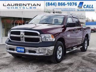 Used 2018 RAM 1500 ST!! CREW CAB!! BACKUP CAMERA!! 4X4!! for sale in Sudbury, ON