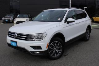 Used 2018 Volkswagen Tiguan Comfortline 2.0T 8sp at w/Tip 4M for sale in Langley, BC