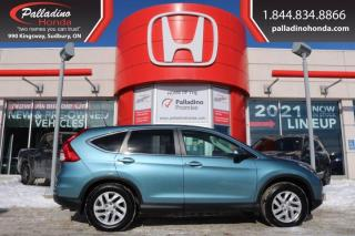 Used 2015 Honda CR-V EX-L - HEATED SEATS BLIND SPOT CAMERA SUNROOF - for sale in Sudbury, ON