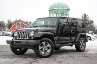 Used 2018 Jeep Wrangler Unlimited Sahara LOW MILEAGE | NAV | BLUETOOTH for sale in Stittsville, ON