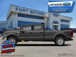 New 2021 Ford F-350 Super Duty Lariat  - Navigation - $682 B/W for sale in Fort St John, BC
