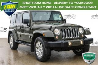 Used 2016 Jeep Wrangler Unlimited Sahara TANK GREEN | LEATHER INTERIOR for sale in Innisfil, ON