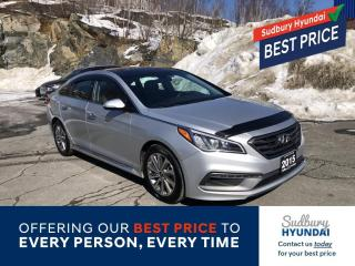 Used 2015 Hyundai Sonata Sport Remote start, snow tires on rims Included! for sale in Sudbury, ON