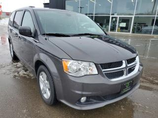 Used 2019 Dodge Grand Caravan Crew Remote Start, NAV, Heated Seats & Wheel, DVD, Stow'N Go! for sale in Ingersoll, ON