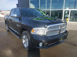 Used 2014 RAM 1500 Longhorn NAV, Heated/Vented Seats, Tonneau Cover, Air Suspension! for sale in Ingersoll, ON