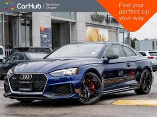 New 2019 Audi RS 5 Coupe Quattro Heated Seats Sunroof Navigation Backup Camera for sale in Thornhill, ON